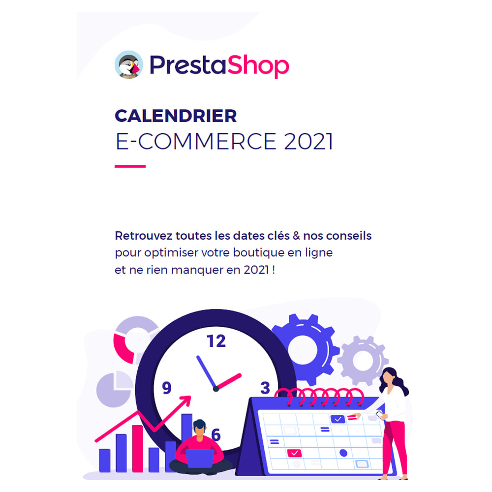 other - eCommerce Kalender - 2021 E-commerce Calendar (French) - 1