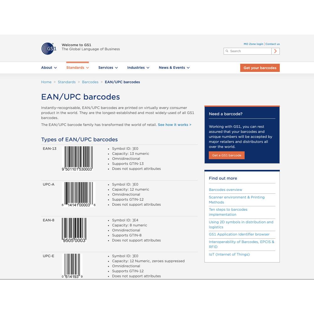 module - Informaciones adicionales y Pestañas - Product Bar Code Generator(ISBN/EAN-13/JAN/UPC barcode) - 5