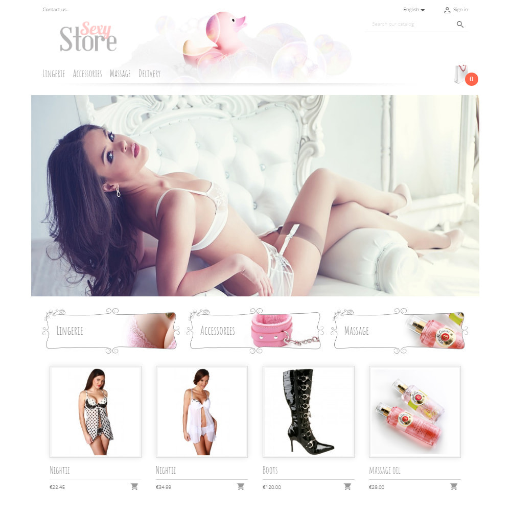 theme - Lingerie & Adulti - Sexy Store - 2