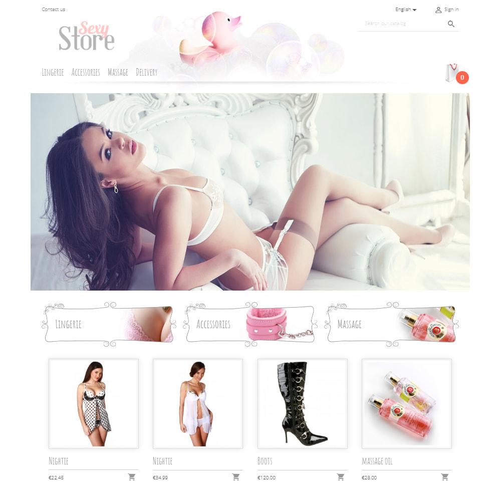 theme - Lingerie & Erwachsene - Sexy Store - 2