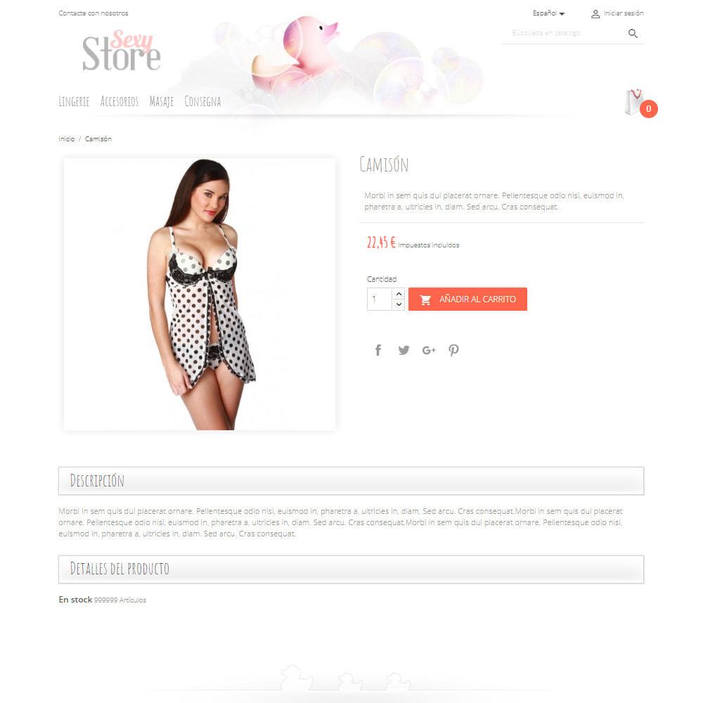 theme - Lenceria y Adultos - Sexy Store - 4