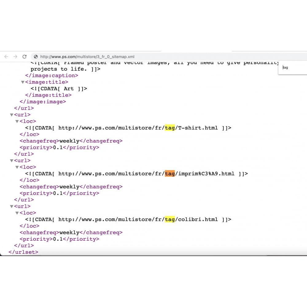 module - Information supplémentaire & Onglet produit - Advanced Product Tags Pro | SEO internal link promotion - 9