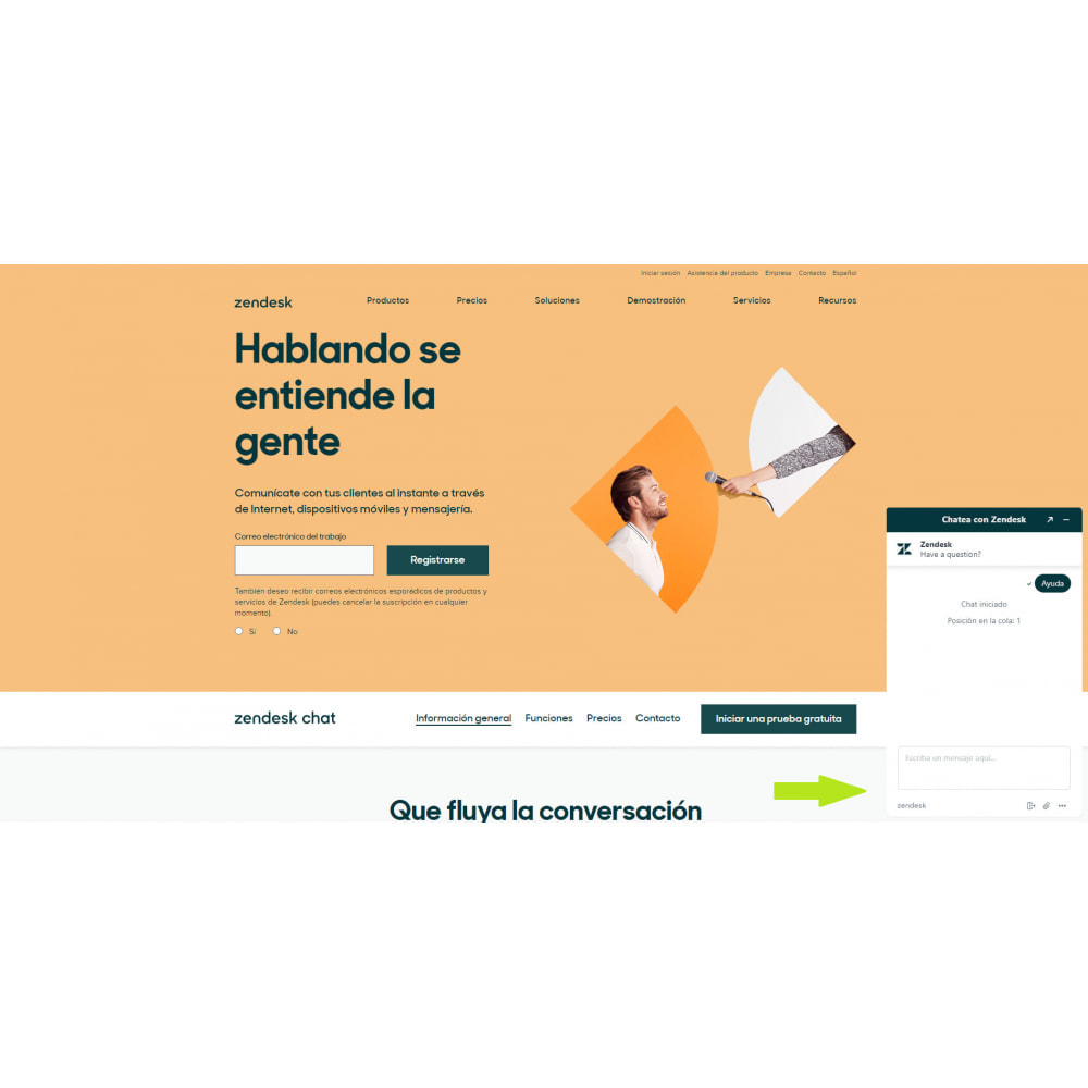 module - Asistencia & Chat online - Zendesk Chat Widget - 3