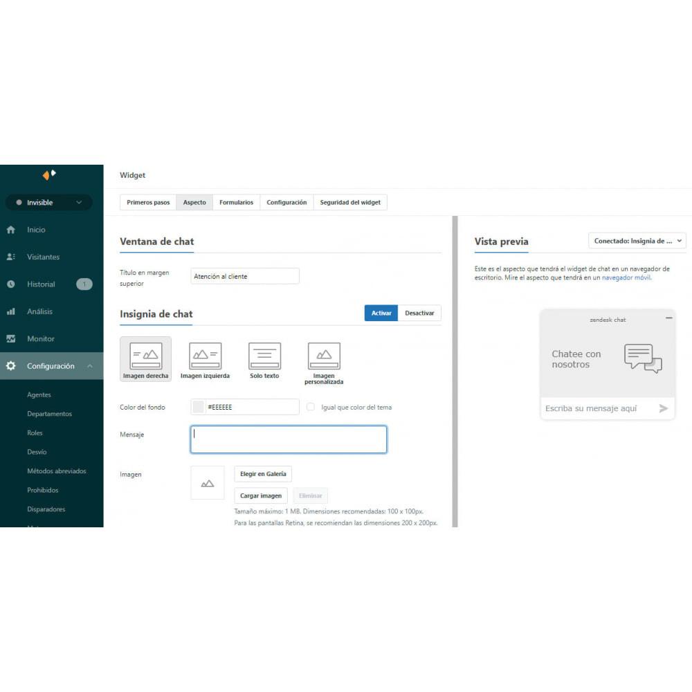 module - Asistencia & Chat online - Zendesk Chat Widget - 6