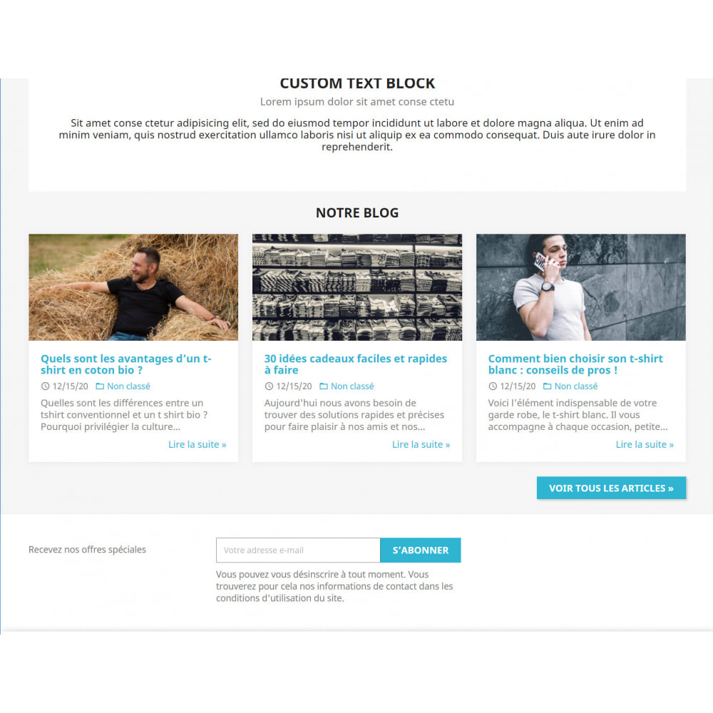 module - Blog, Forum & Actualités - WordPress Intégration - 1