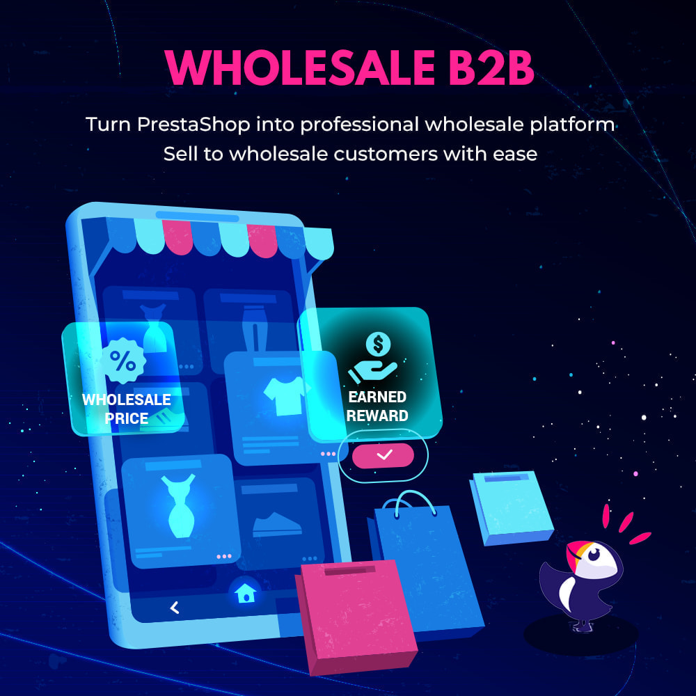 module - Flash & Private Sales - Wholesale B2B - PrestaShop wholesale module - 1