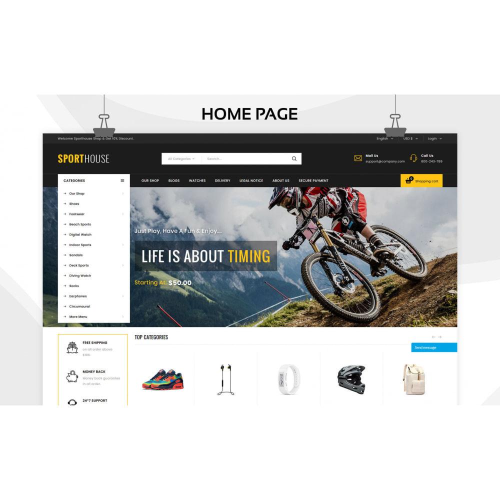 theme - Sport, Loisirs & Voyage - Sport House Magasin de sport en ligne - 6