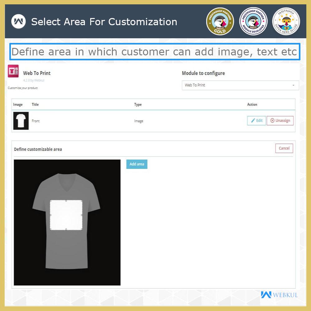 module - Вариаций и персонализации товаров - Web To Print -  Product Customize - 11