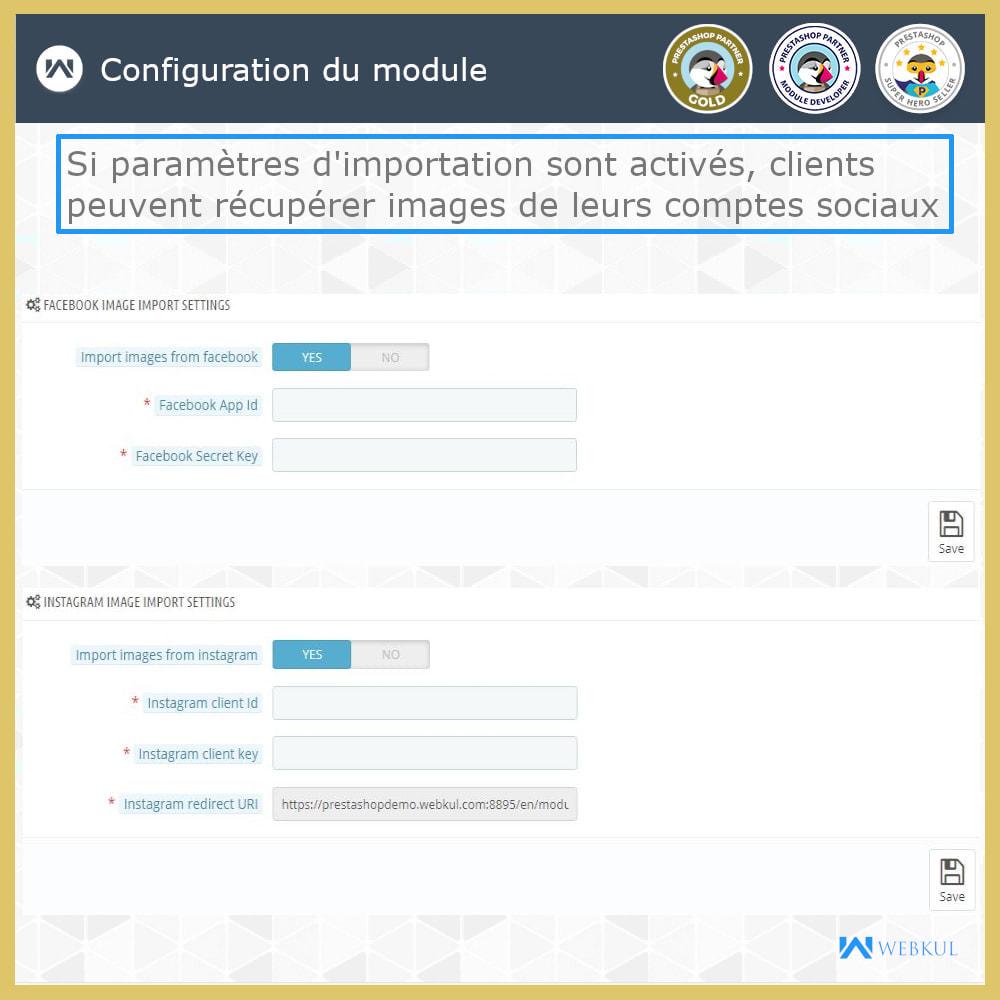module - Déclinaisons & Personnalisation de produits - Web à Imprimer - Personnaliser le Produit - 11