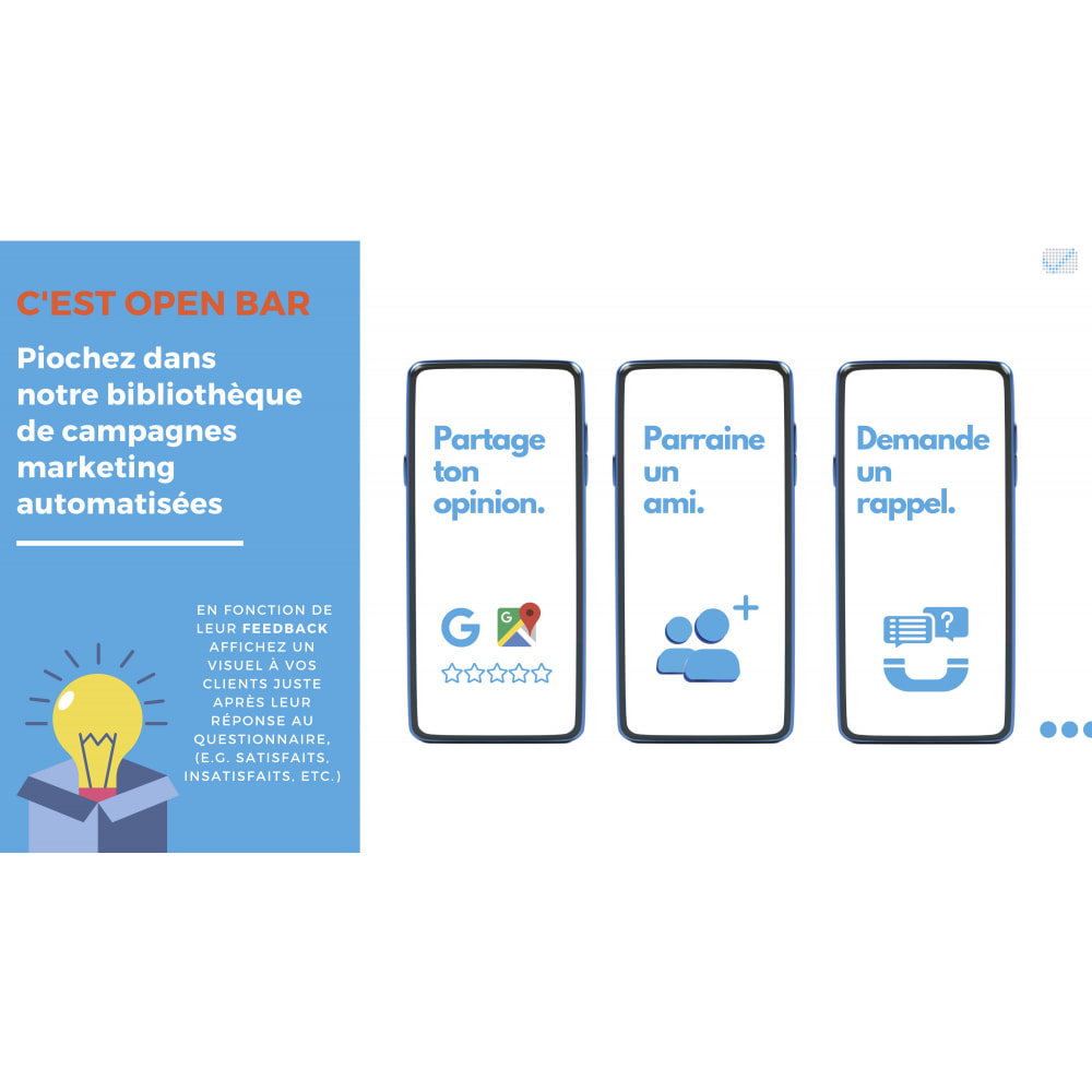 module - Fidélisation & Parrainage - e-satisfaction.com - Du feedback à la fidélisation! - 7