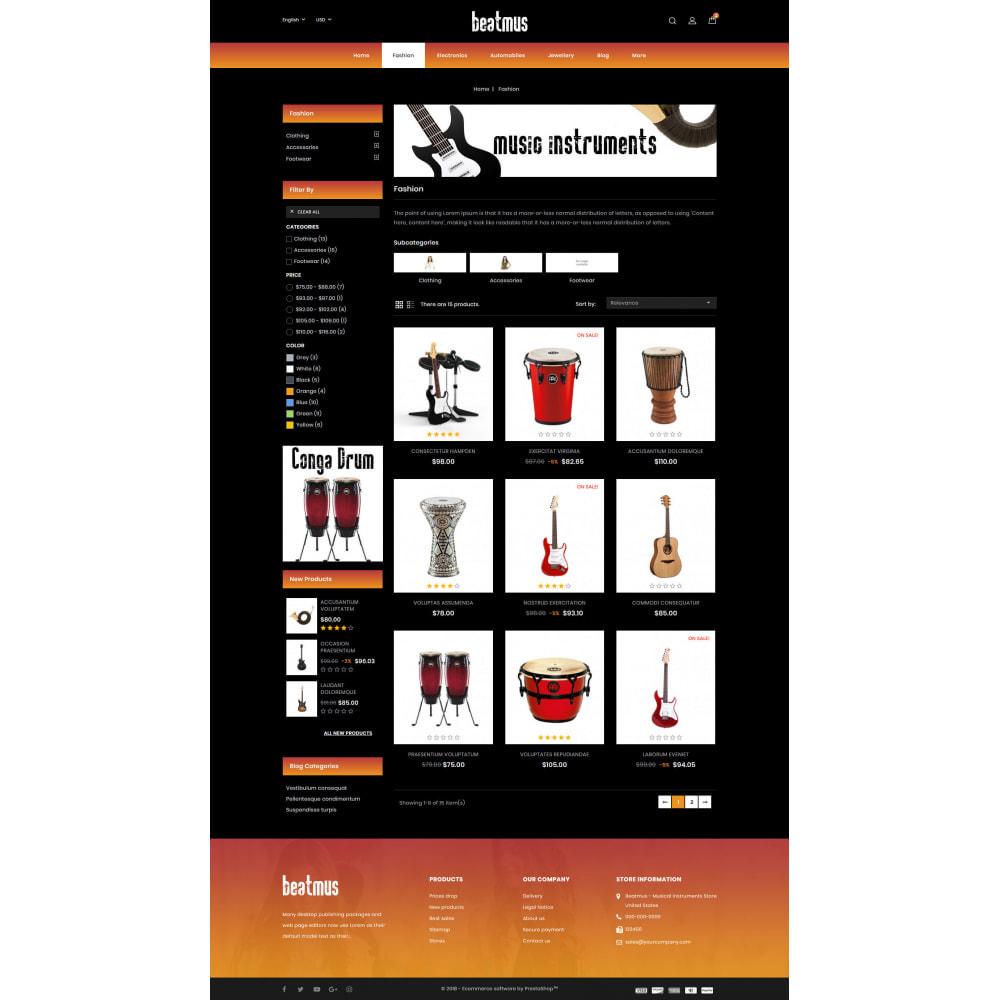 theme - Arte & Cultura - Beatmus - Musical Instrument Store - 3