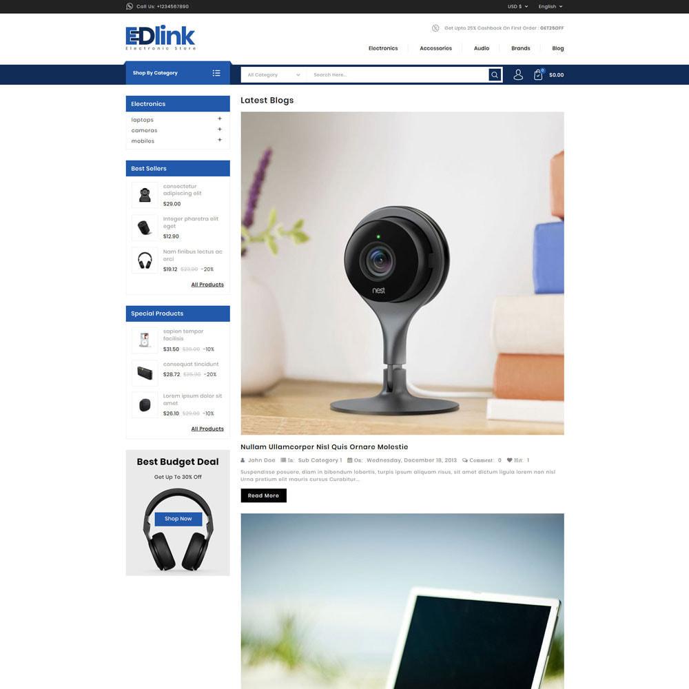 theme - Elektronika & High Tech - Edlink - Electronic Store - 5
