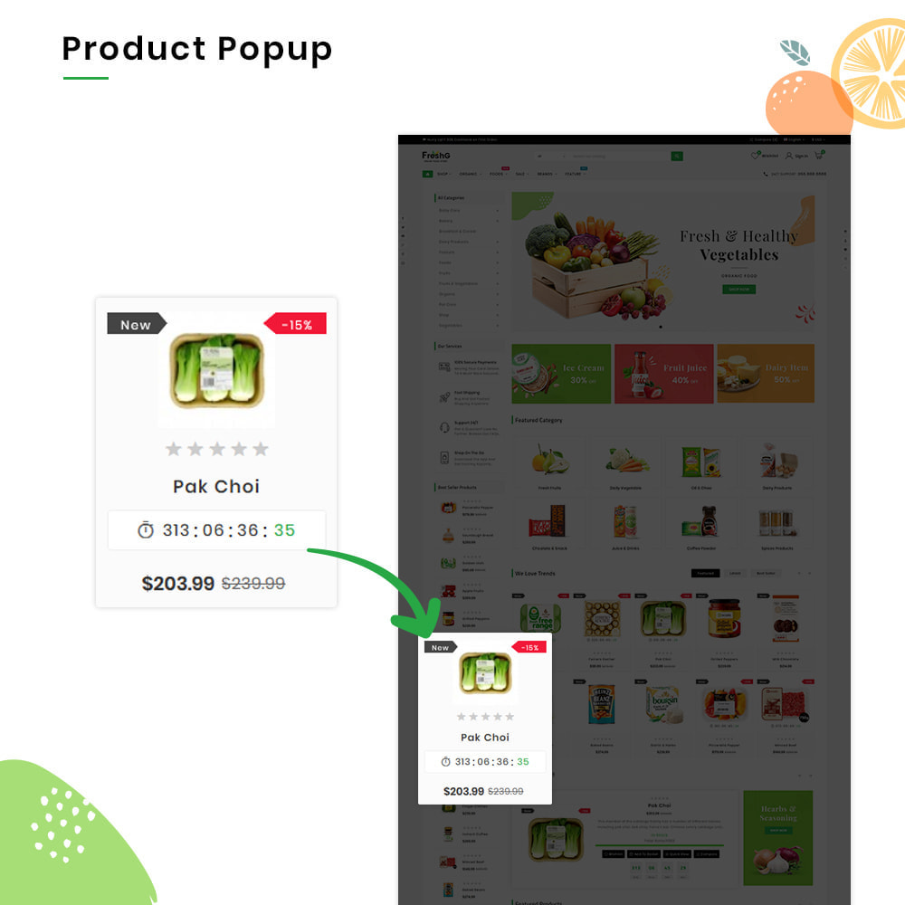 theme - Продовольствие и рестораны - FreshG Mega Grocery–Food Drink–Coffee Super Store v3 - 10