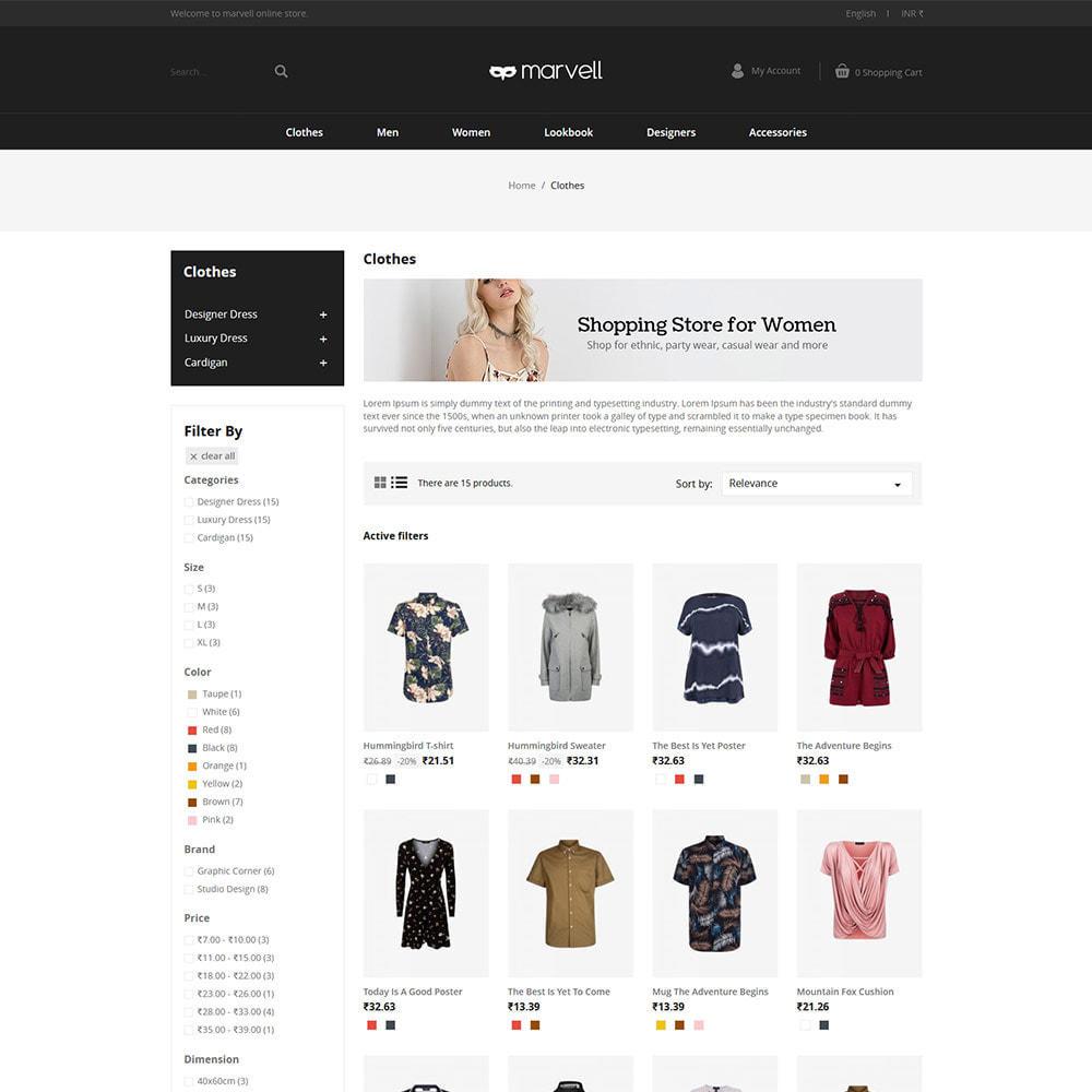 theme - Fashion & Shoes - Clothes  Women - Designer  Fashion Store - 3