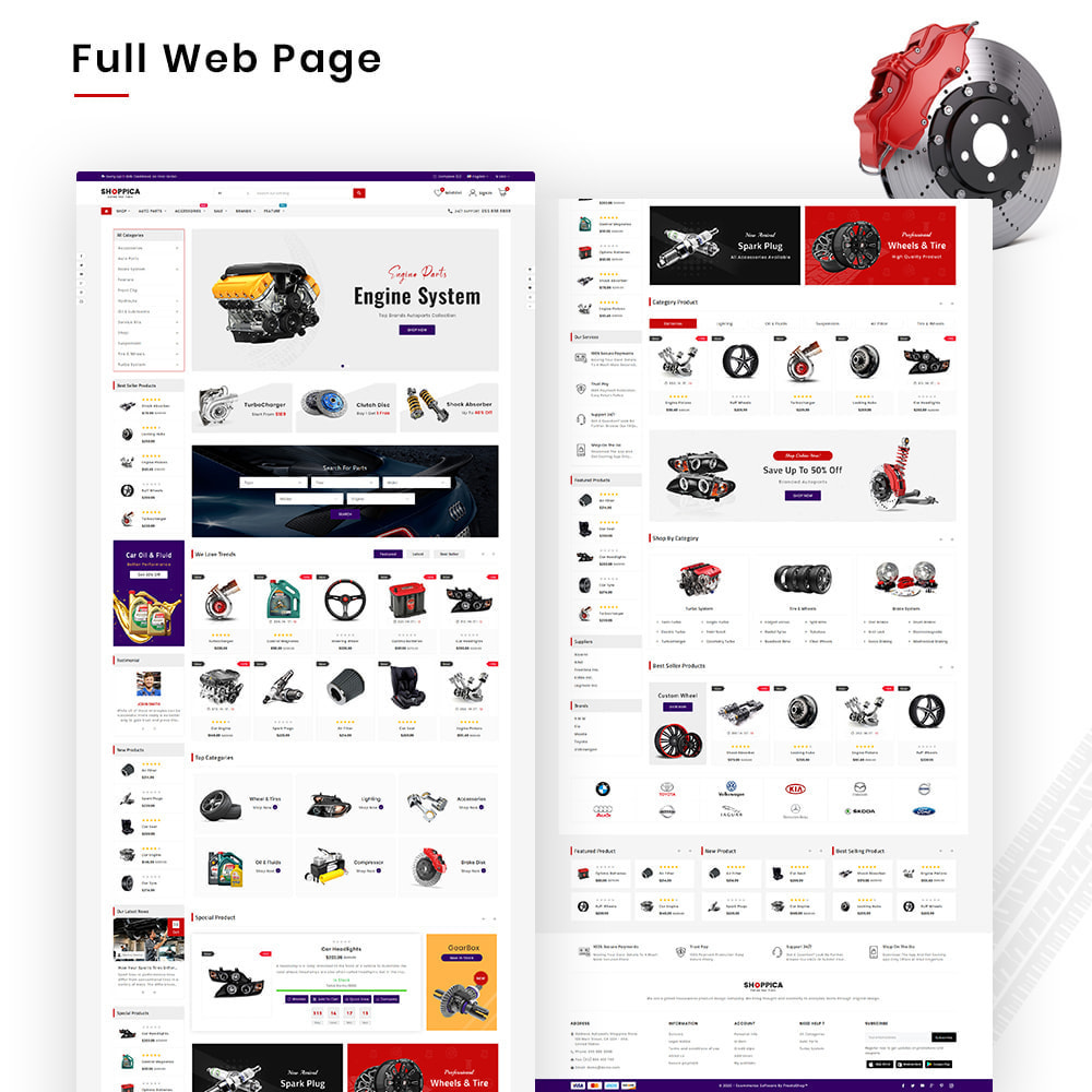 theme - Auto's & Motoren - Shoppica Mega Spare–Parts & Cars–Tools Super Store v3 - 2