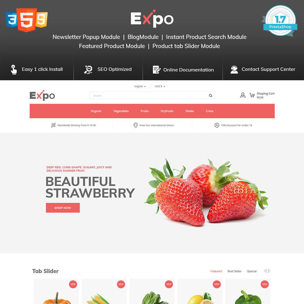 theme - Food & Restaurant - Restaurant - Food  Vegitable  Organics  Store - 1