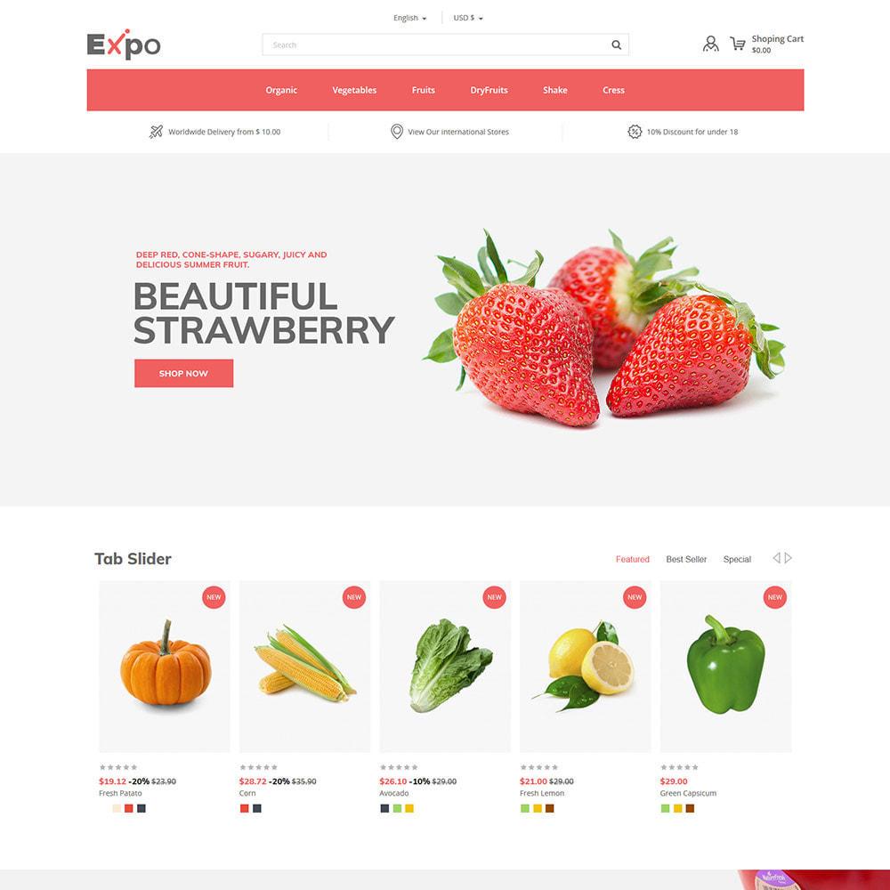 theme - Food & Restaurant - Restaurant - Food  Vegitable  Organics  Store - 2