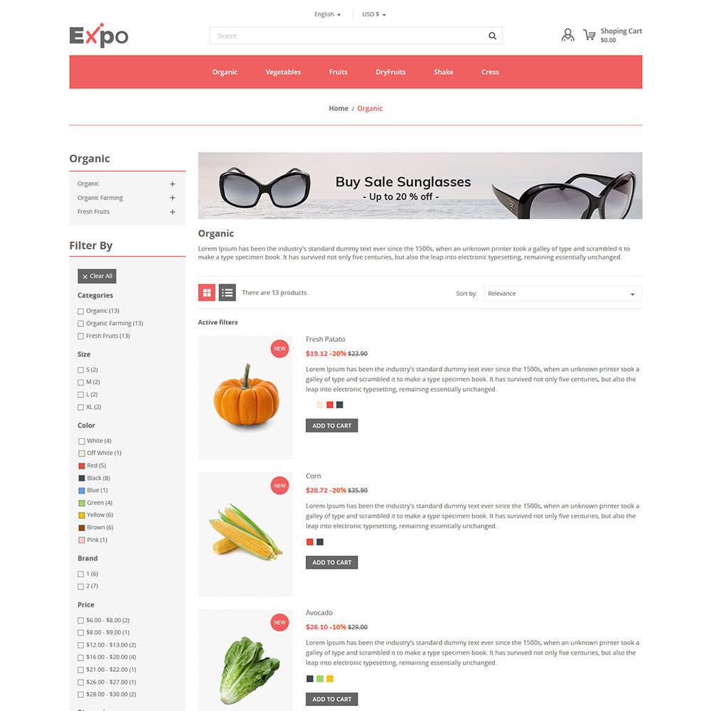 theme - Food & Restaurant - Restaurant - Food  Vegitable  Organics  Store - 4