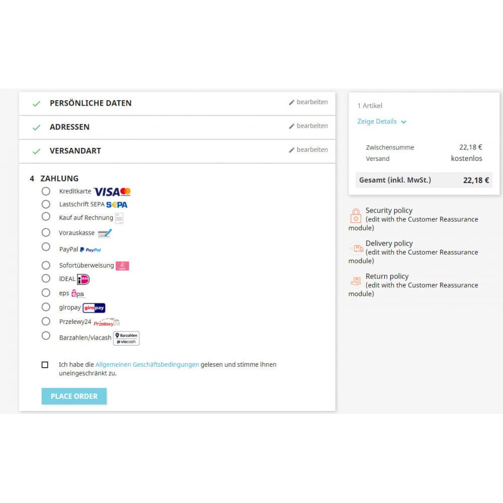 module - Zahlung per Kreditkarte oder Wallet - Novalnet Zahlung - 6