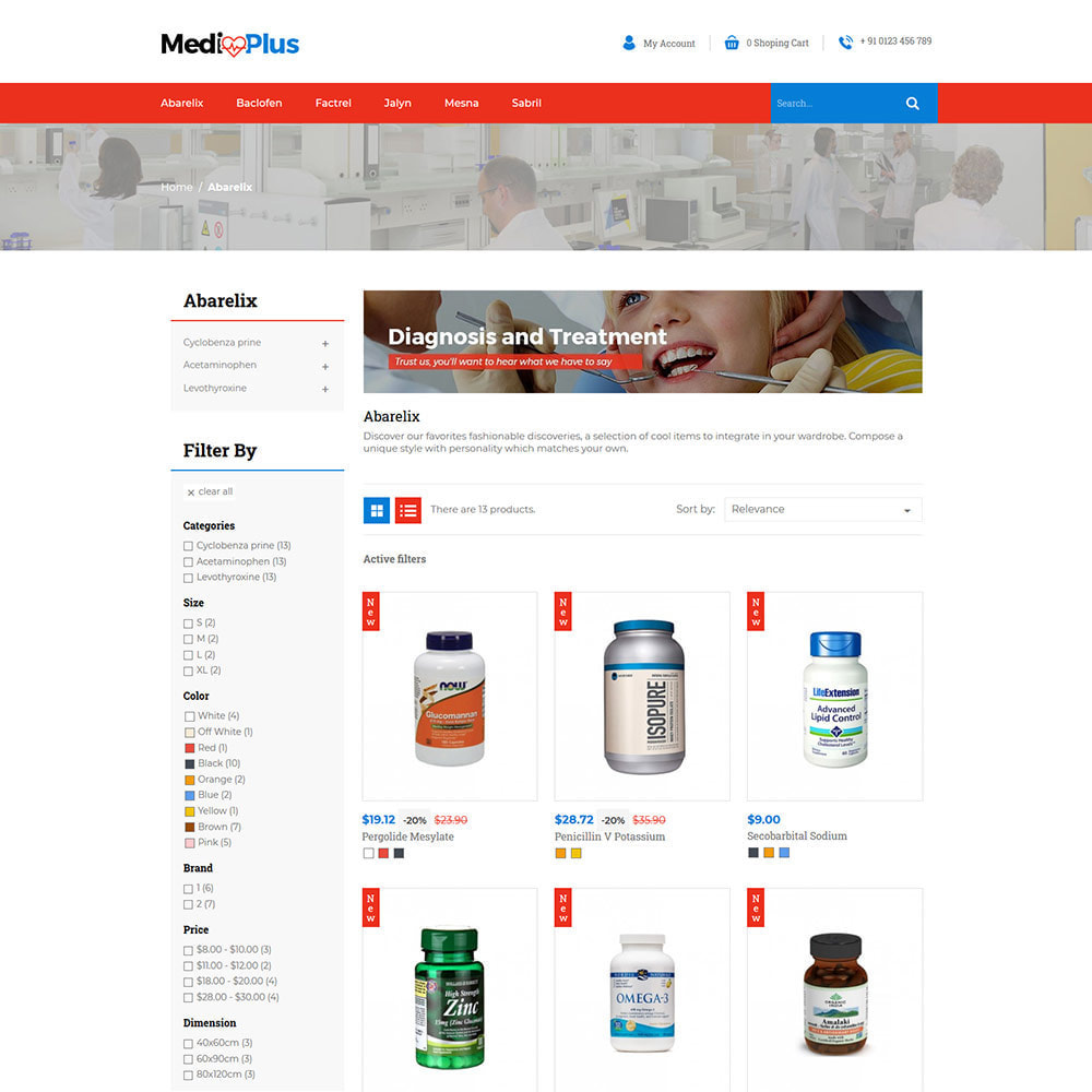 theme - Health & Beauty - Medical - Drug  Store - 3