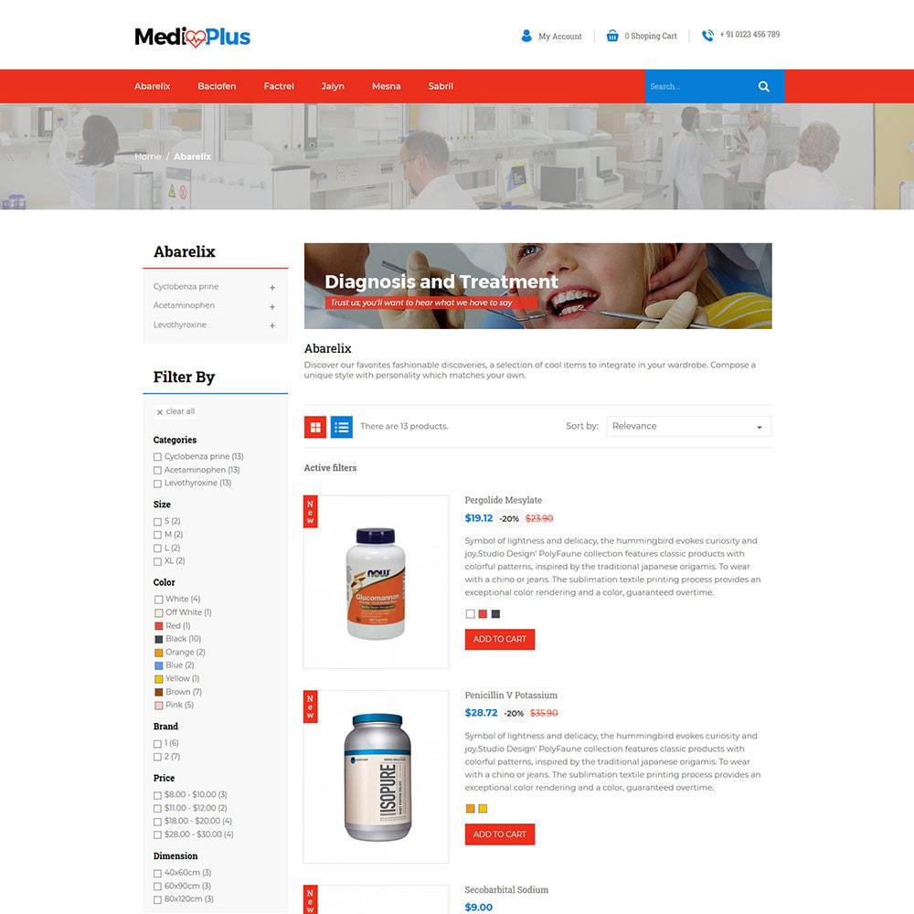 theme - Saúde & Beleza - Medical - Drug  Store - 4