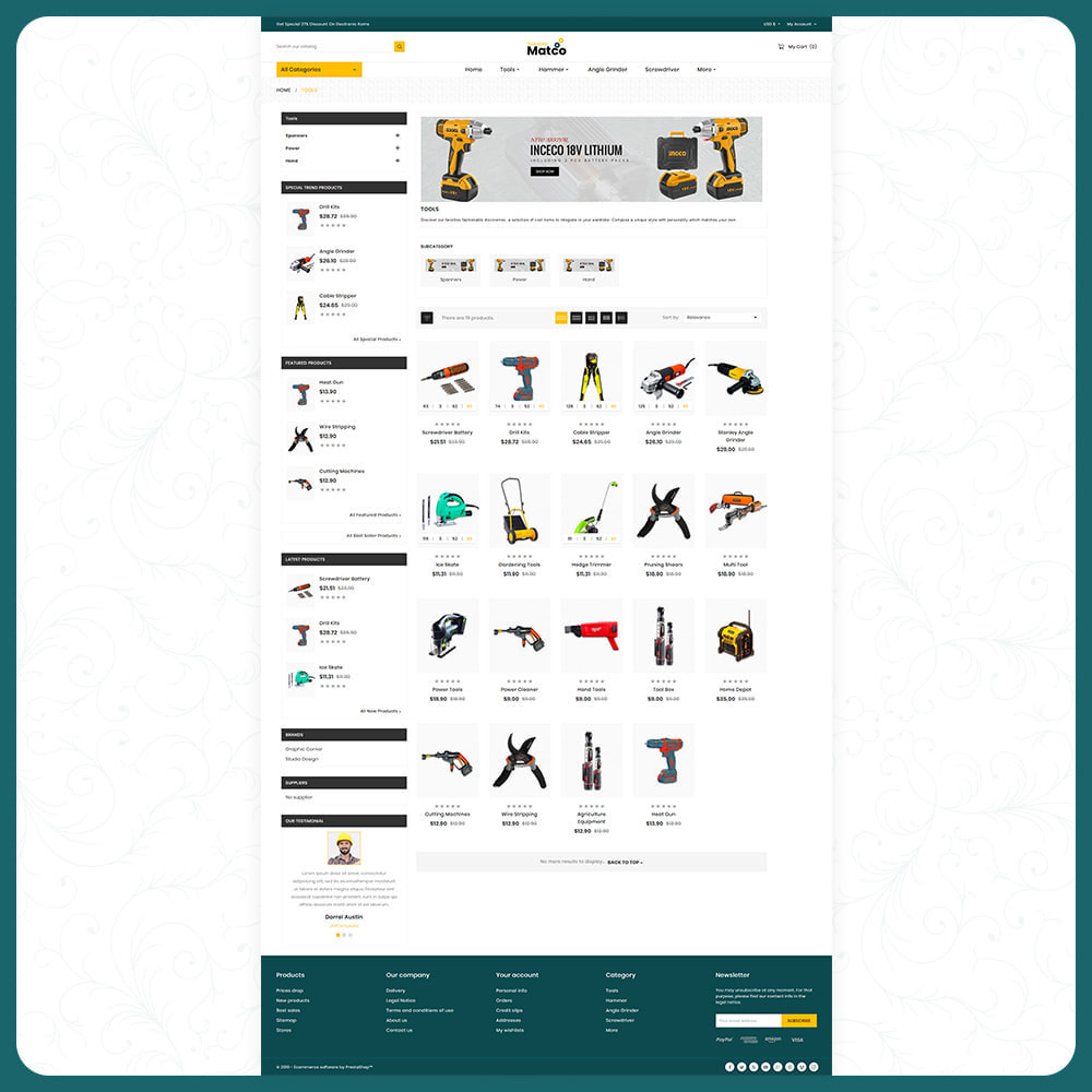 theme - Automotive & Cars - Utensili–Matco–Tools Super Store - 3