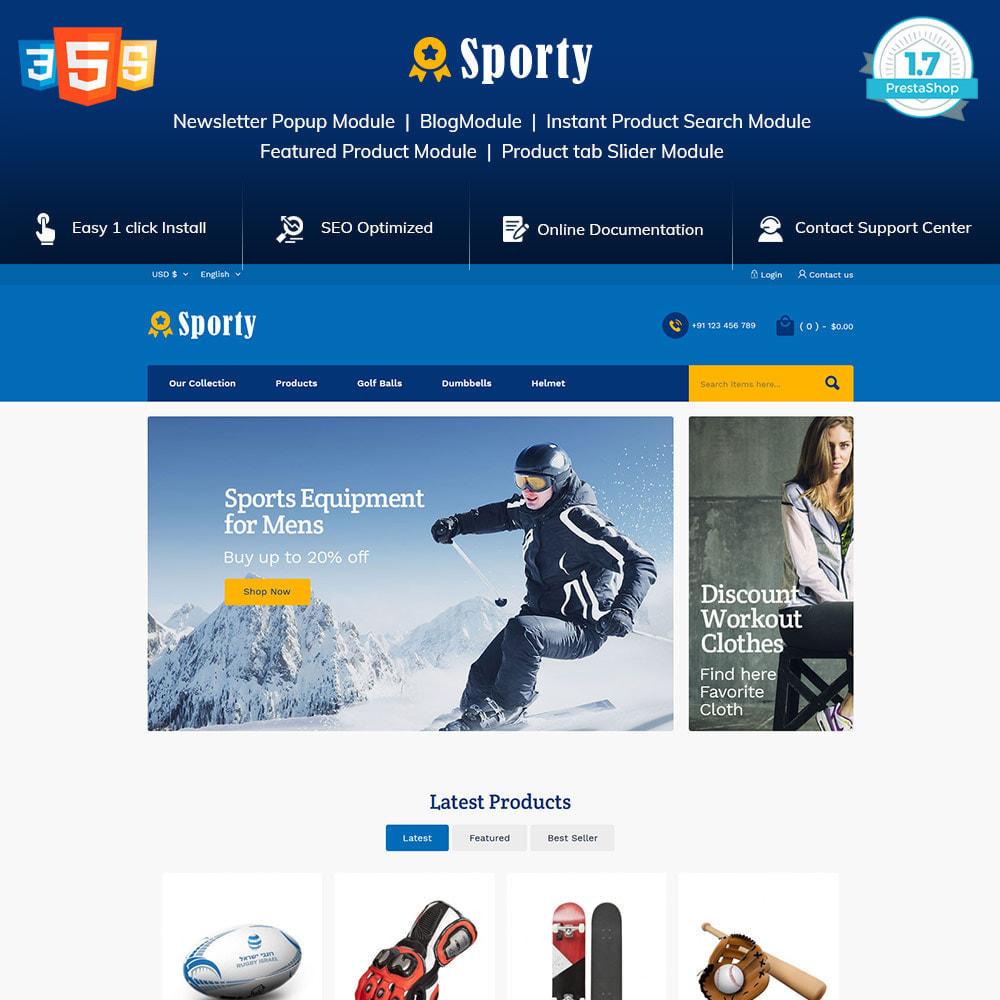 theme - Desporto, Actividades & Viagens - Sportswear Fashion - Travel Designer Store - 1