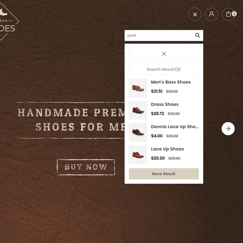 theme - Moda & Calçados - Shoes Brand – Lexella Mega Store - 8
