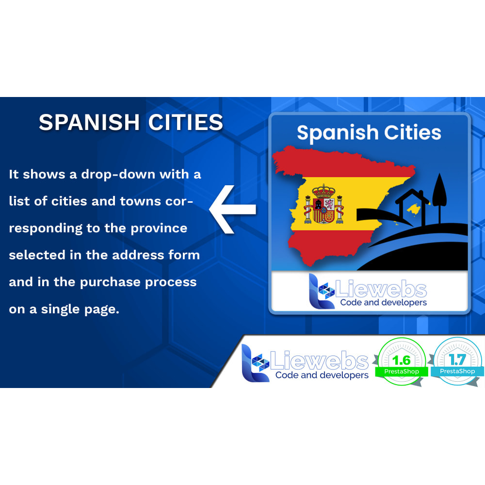 module - International & Localization - Spanish Cities (Spanish cities, towns, villages) - 1