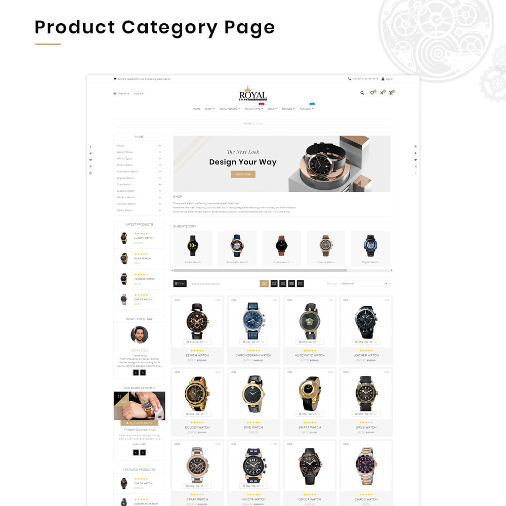 theme - Jewelry & Accessories - Royal Mega Watch–Jewelry Multipurpose Super Store - 3