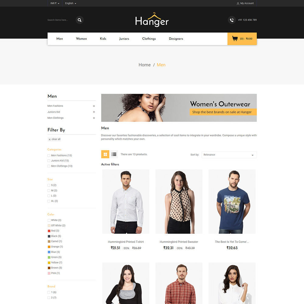 theme - Fashion & Shoes - Designer  Bag -  Clothes Fashion Store - 3