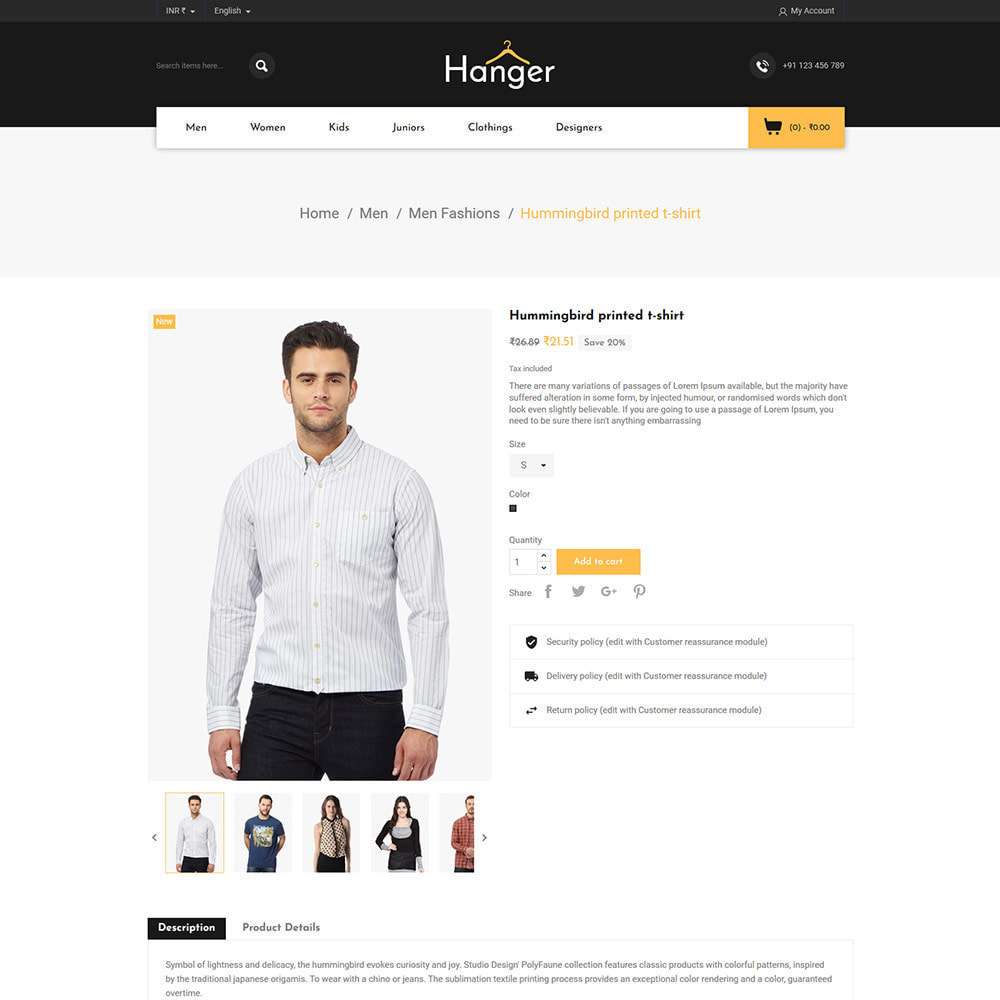 theme - Fashion & Shoes - Designer  Bag -  Clothes Fashion Store - 5
