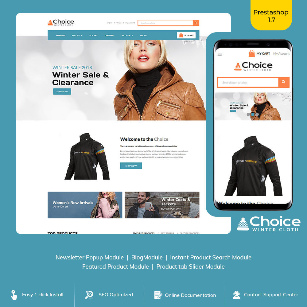 theme - Fashion & Shoes - Choice  Bag - Fashion Suits Store - 1