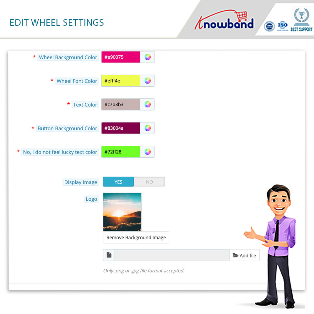 module - Promoties & Geschenken - Knowband-Entry,Exit and Subscription Popup-Spin and Win - 7