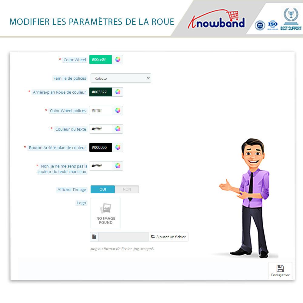 module - Promotions & Cadeaux - Knowband-Popup d'Entrée et Inscription-Tournez & Gagnez - 2