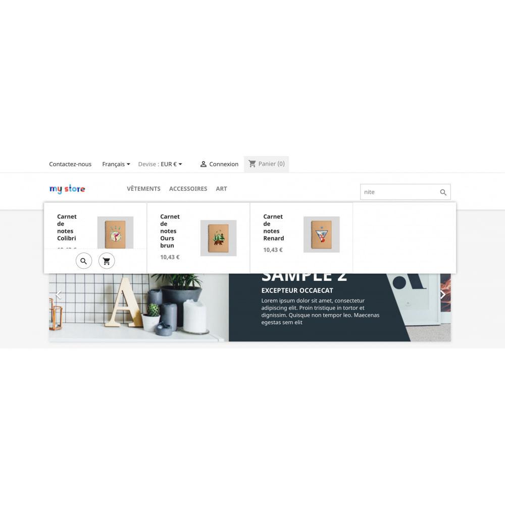 module - Recherche & Filtres - Prestashop Recherche Plus - 5