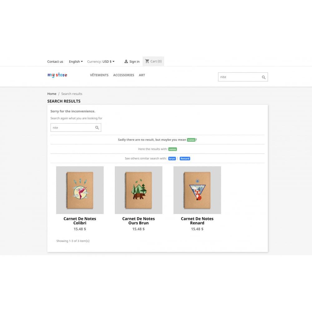 module - Поиск и фильтры - Classic Search Plus - 1