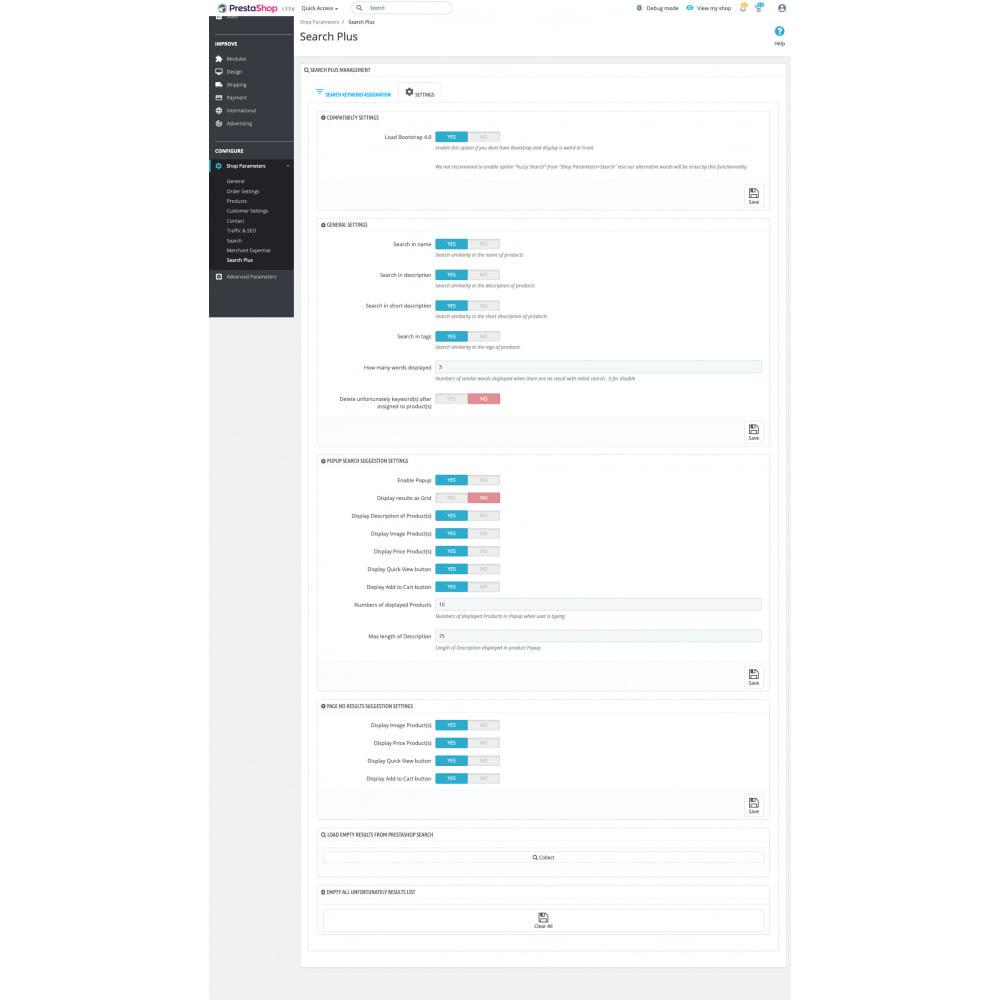module - Поиск и фильтры - Classic Search Plus - 7