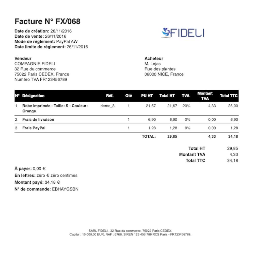 module - Contabilidade & Cobrança - VosFactures - Invoicing Multifunction - 3