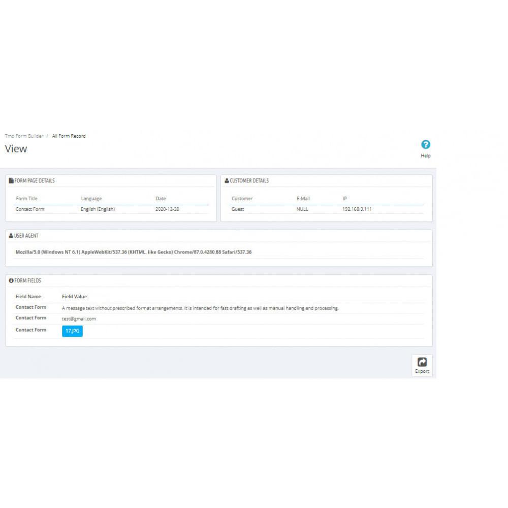 module - Contact Forms & Surveys - Form Builder Pro - 19