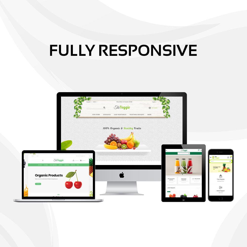 theme - Food & Restaurant - Veggie  - The Organic Store - 2
