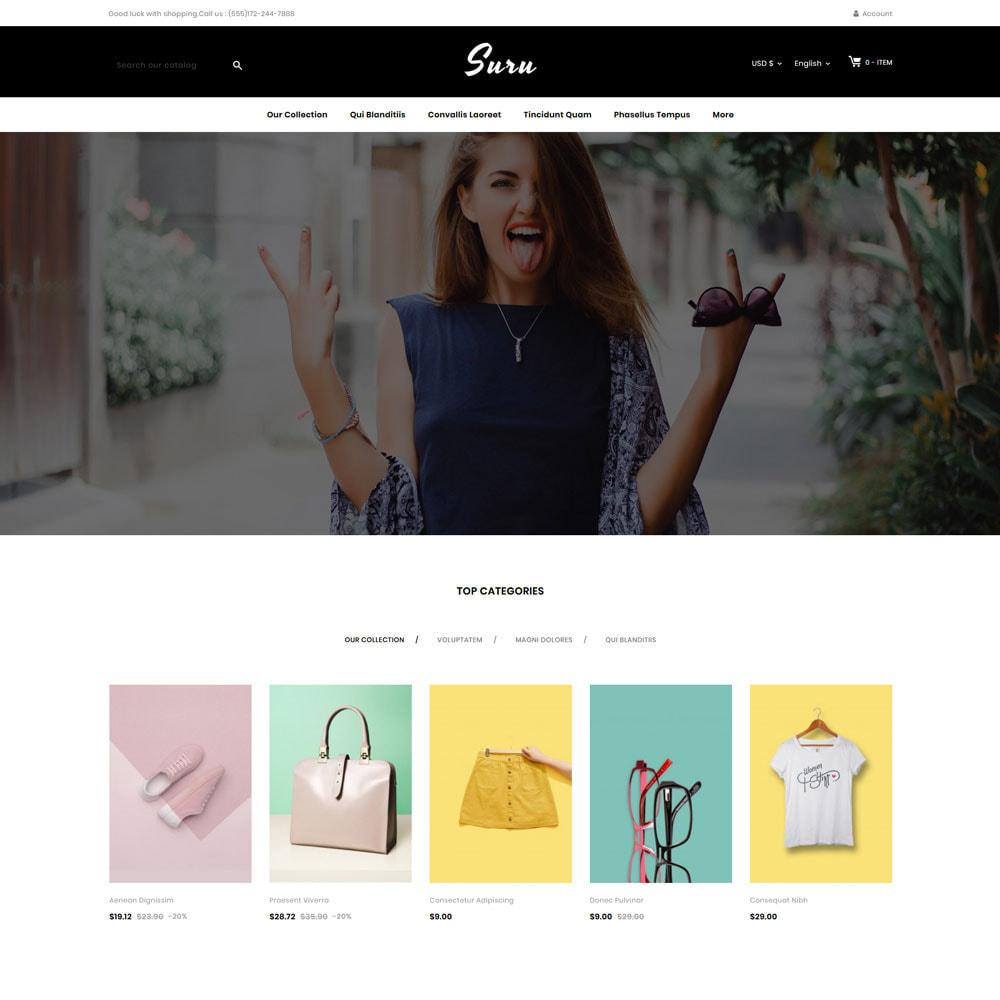 theme - Fashion & Shoes - Suru - The fashion store - 3