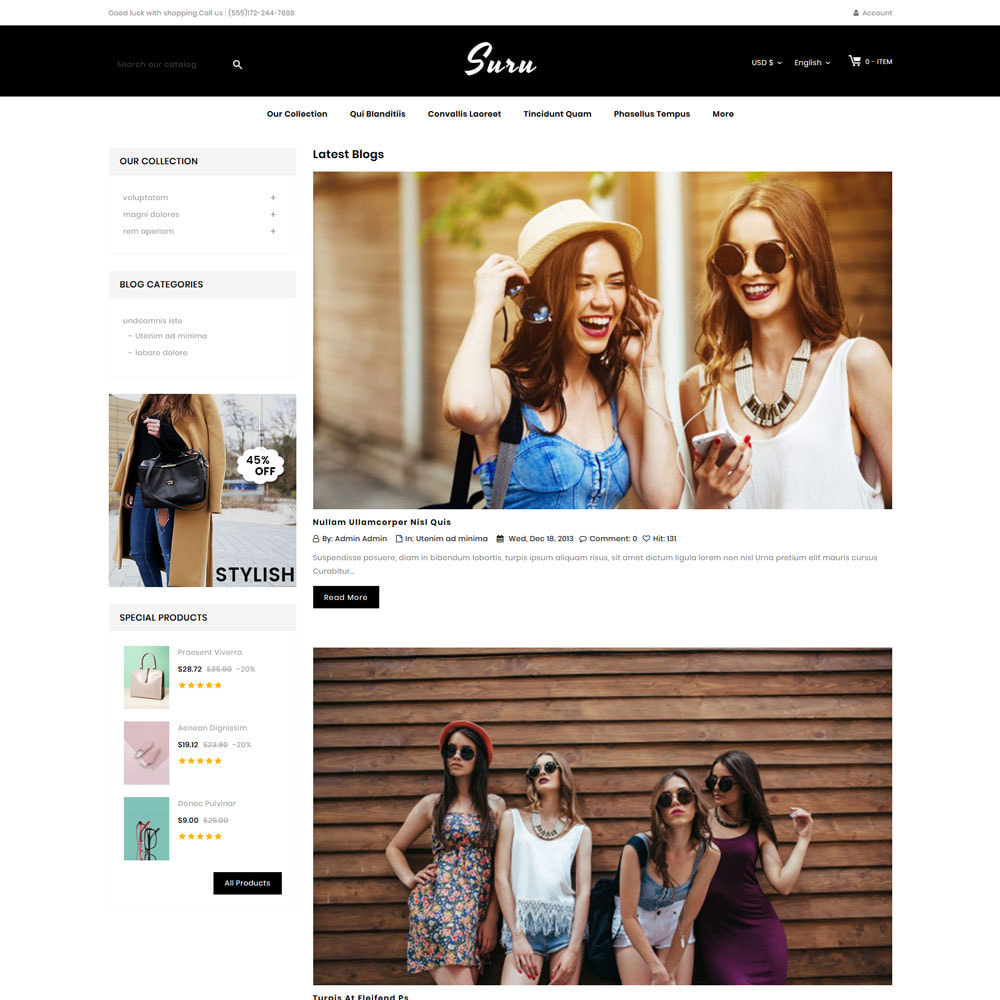 theme - Fashion & Shoes - Suru - The fashion store - 7