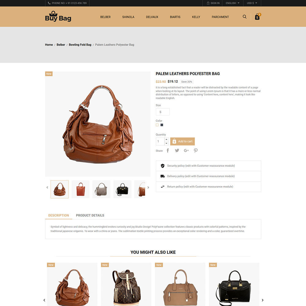theme - Moda & Calçados - Buy Bag - Fashion Store - 5