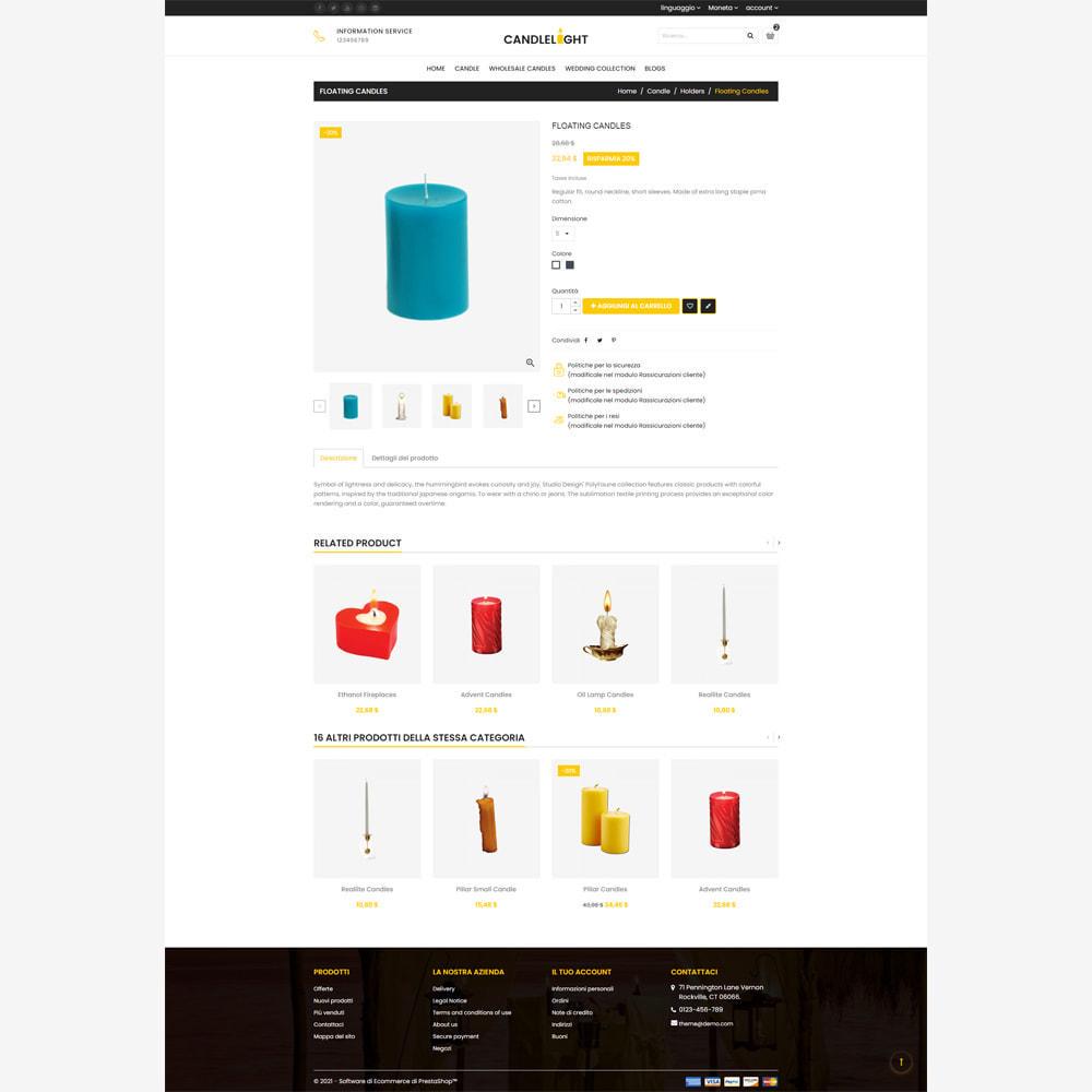theme - Regali, Fiori & Feste - Candela - Responsive Store - 4