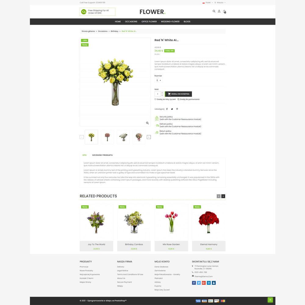 theme - Prezenty, Kwiaty & Uroczystości - Kwiaciarnia - 4