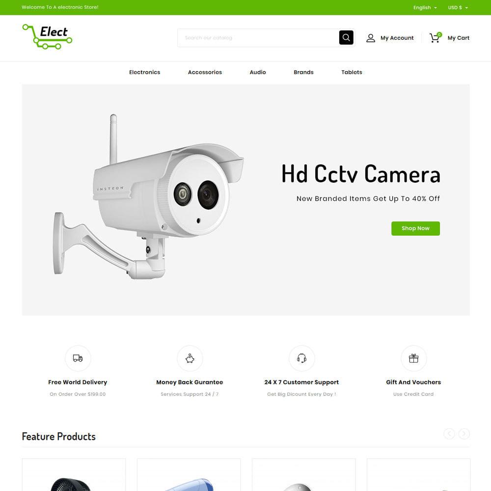 theme - Eletrônicos & High Tech - Elect - Digital Store - 1