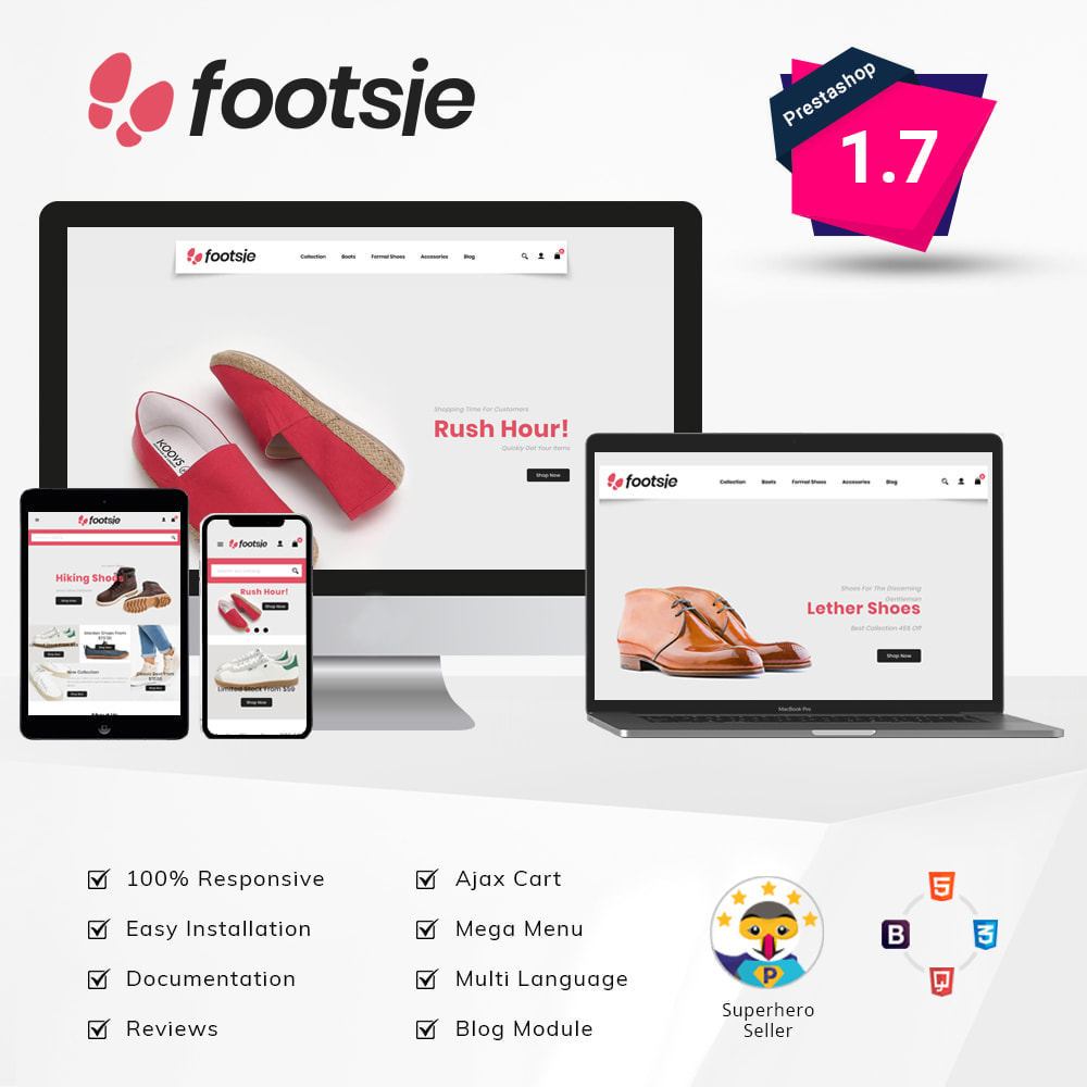 theme - Mode & Chaussures - Foots - Shoes Store - 2