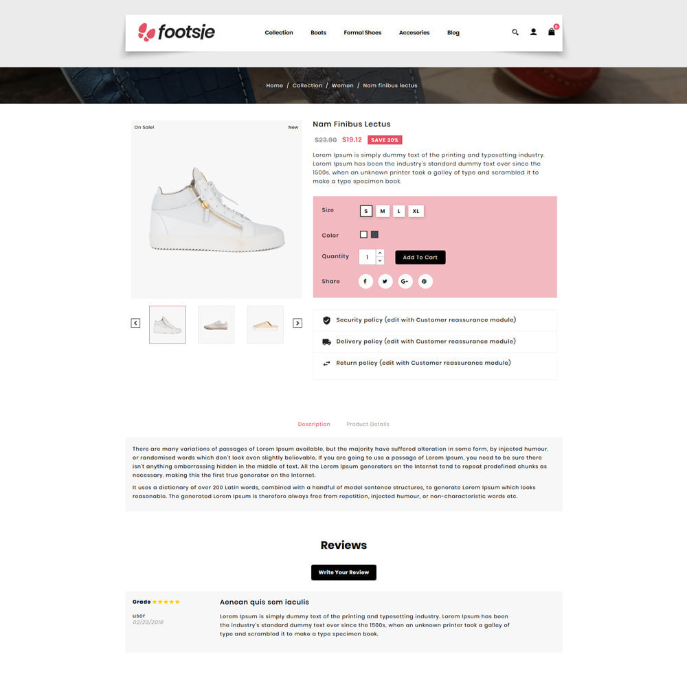 theme - Mode & Chaussures - Foots - Shoes Store - 4