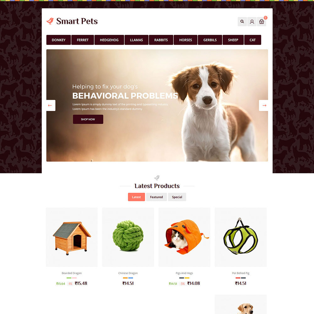 theme - Zwierzęta - Smart Animal - Pet Food Store - 2